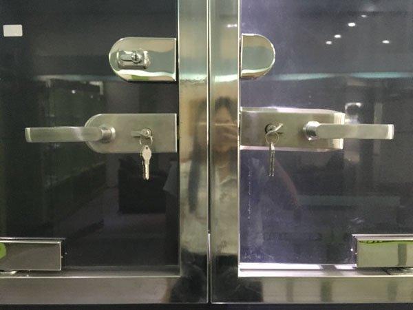 SAHARA Glass HARDWARE professional glass door lock wholesale for office-7