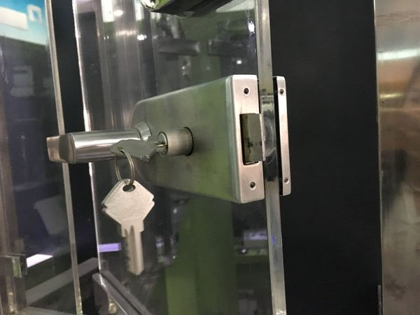 SAHARA Glass HARDWARE professional glass door lock wholesale for office-12