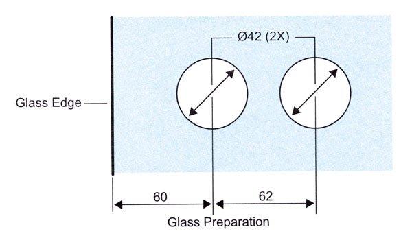 safe bathroom glass door lock brass factory direct supply for doors-10