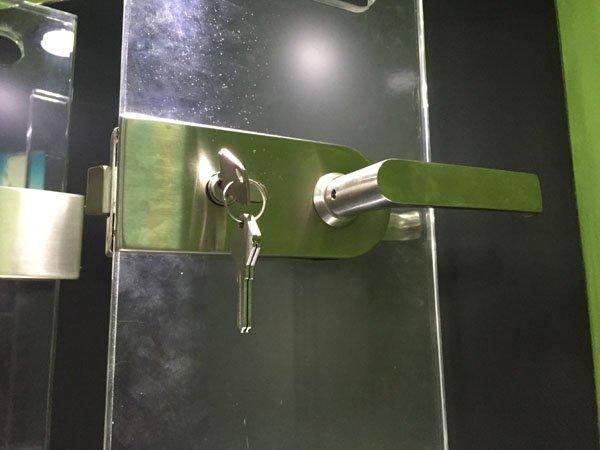 SAHARA Glass HARDWARE professional glass door lock wholesale for office-2