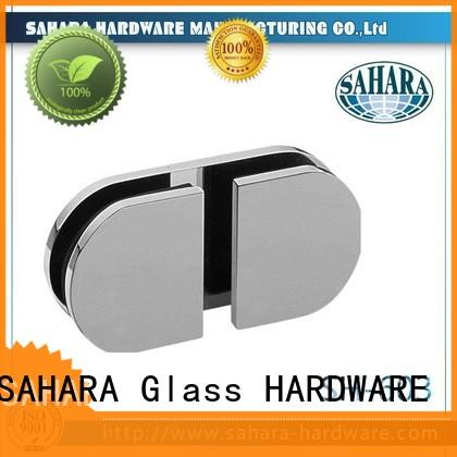 SAHARA Glass HARDWARE brass glass connectors factory direct supply for bathroom