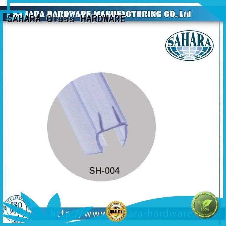 SAHARA Glass HARDWARE real pvc shower seal strip waterproof for doors