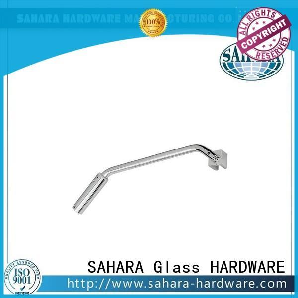 SAHARA Glass HARDWARE real glass corner connectors manufacturer for home