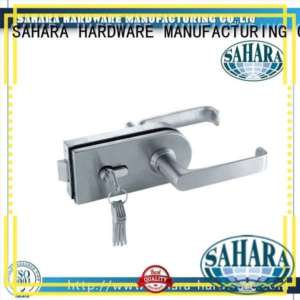 SAHARA Glass HARDWARE professional glass door lock wholesale for office