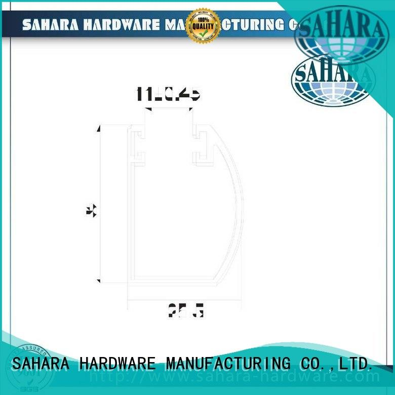 SAHARA Glass HARDWARE brass door handle accessories factory direct supply for home