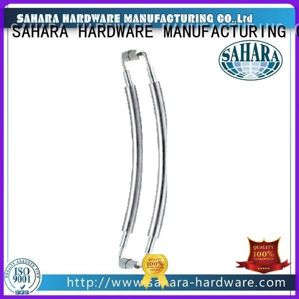 SAHARA Glass HARDWARE professional glass shower door handles wholesale for home