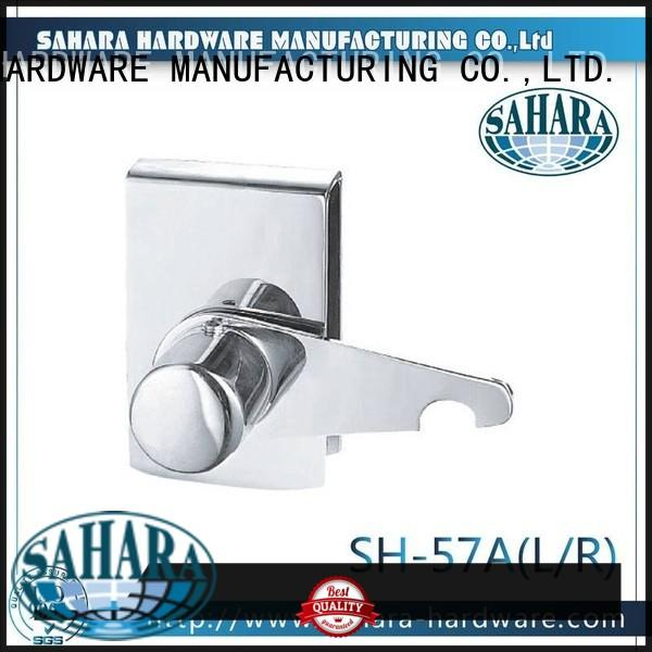 top quality glass door lock stainless steel cover supplier for office