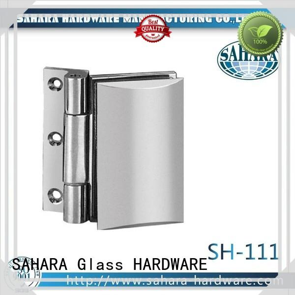 SAHARA Glass HARDWARE stainless steel glass panel connectors manufacturer for bathroom