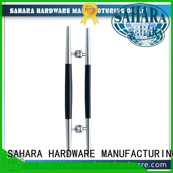 SAHARA Glass HARDWARE top quality glass shower door handles wholesale for office