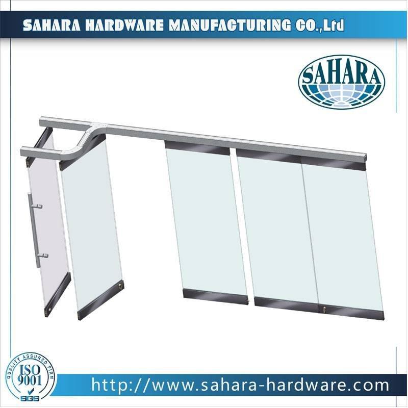 Folding Glass Partition System - FD9000H