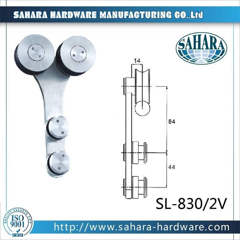 OEM Aluminium Heavy Duty Sliding Door System-SL-830-2V