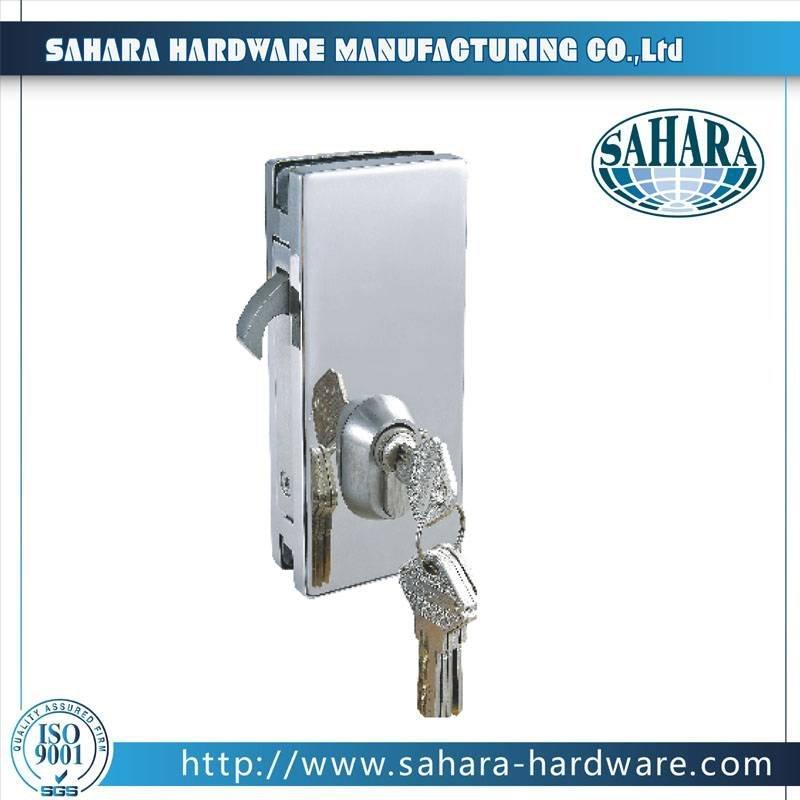 Stainless Steel Glass Door Lock-FT-57