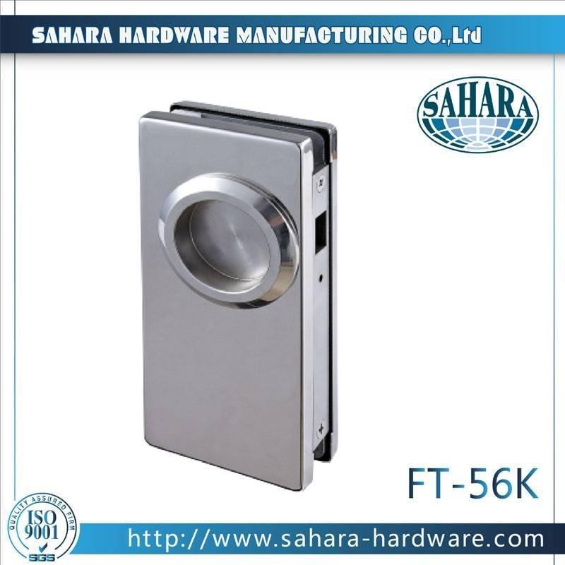 Aluminum Sliding Glass Door Lock-FT-56k