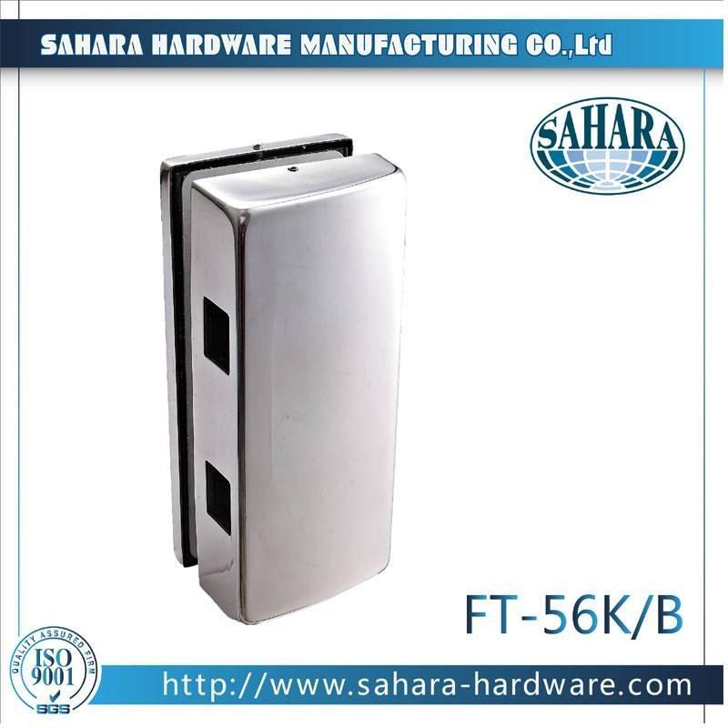 Stainless Steel Glass Door Lock-FT-56K-B