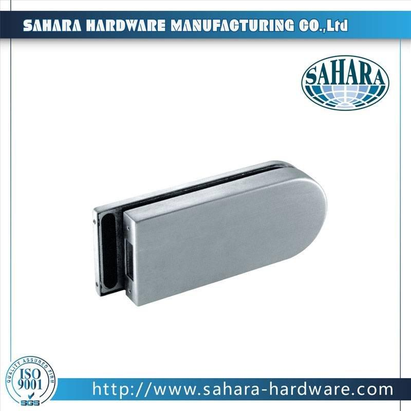 China Stainless Steel Brass Cylinders Glass Door Lock-FT-036K