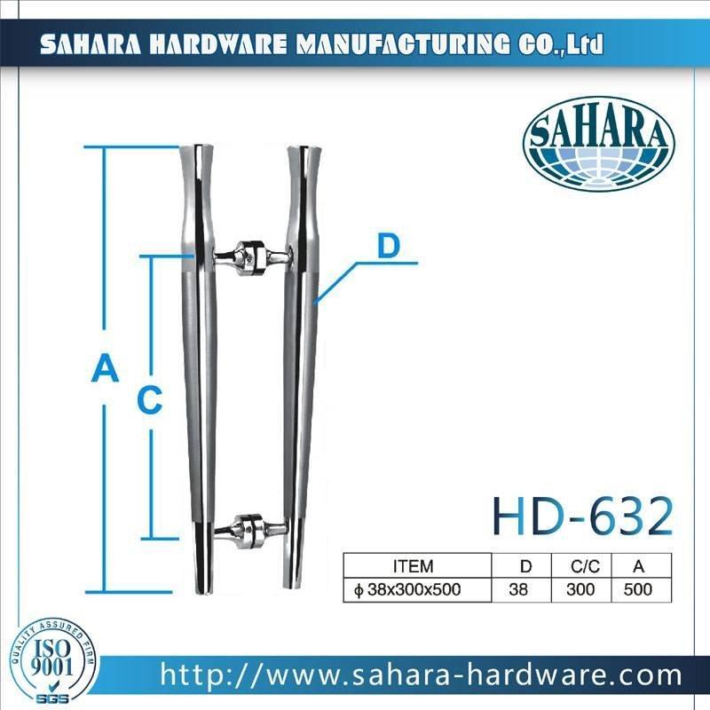 China Stainless Steel Door Handles-HD-632