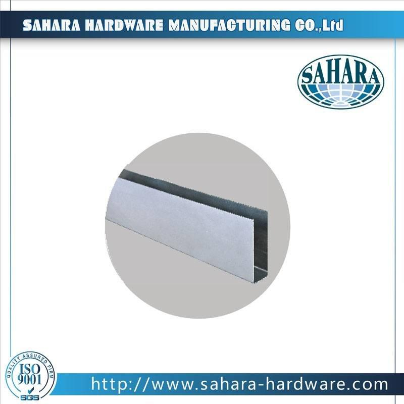 Glass Door Hardware-PSS U-Chanel B
