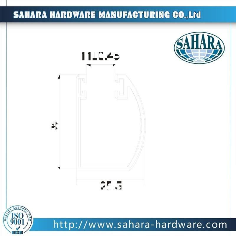 Glass Door Hardware-CKB-3