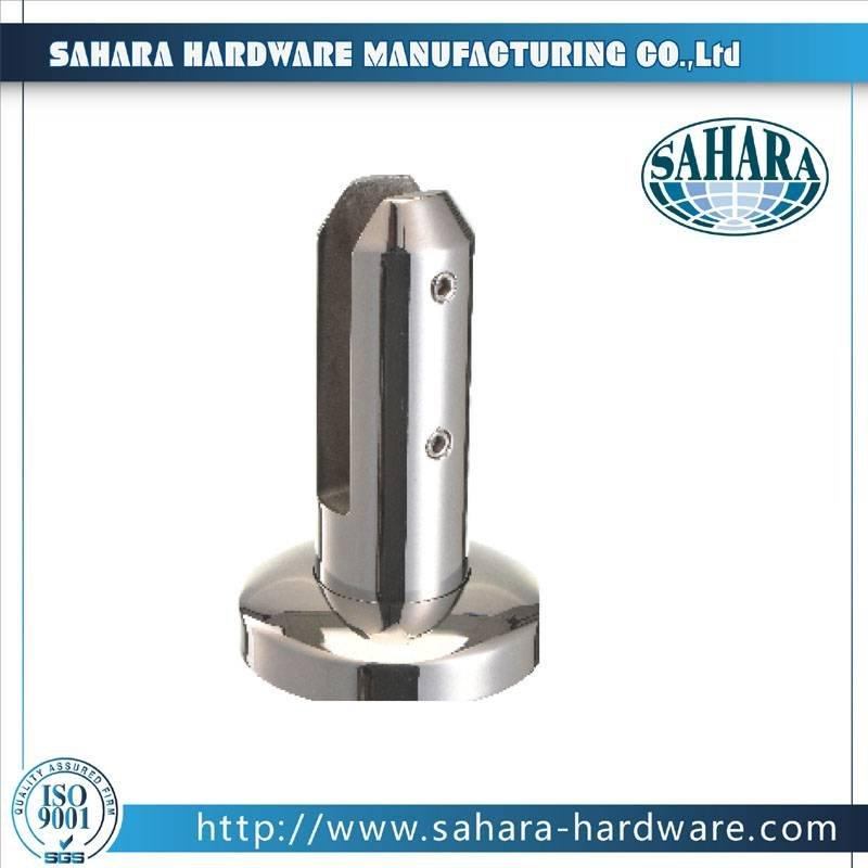 Frameless Glass Balustrade Spigots-FT-BS-R-150