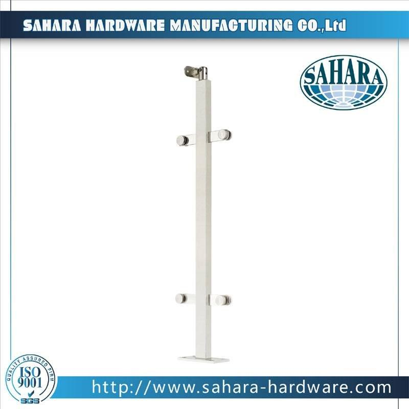 Frameless Glass Balustrade Spigots-HJ-037