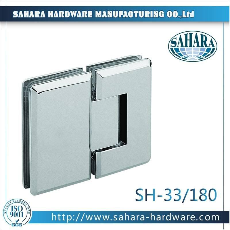 Frameless Bathroom Shower Door Hinges-SH-33-180