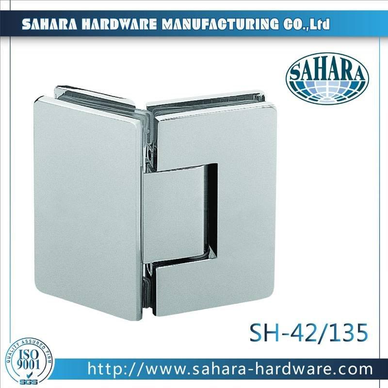 Frameless Bathroom Shower Door Hinges-SH-42-135