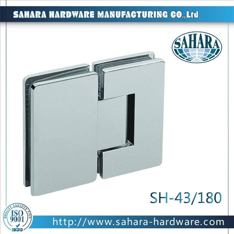 Frameless Bathroom Shower Door Hinges-SH-43-180