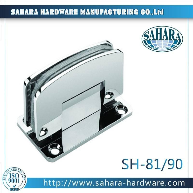 Frameless Bathroom Shower Door Hinges-SH-81-90