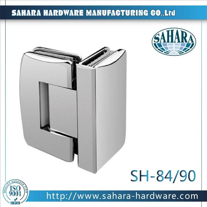 Frameless Bathroom Shower Door Hinges-SH-84-90