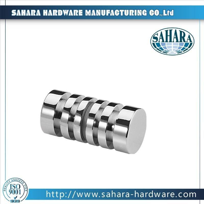 China Brass Round Glass Shower Door Knob-SH-754