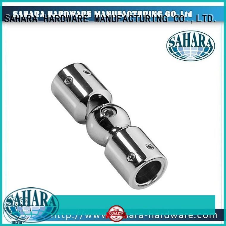 real glass corner connectors stainless steel supplier for home