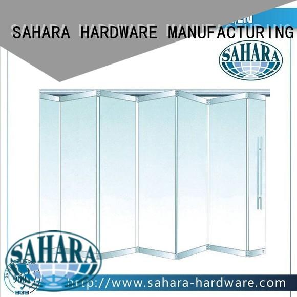 system partition folding glass walls SAHARA Glass HARDWARE manufacture