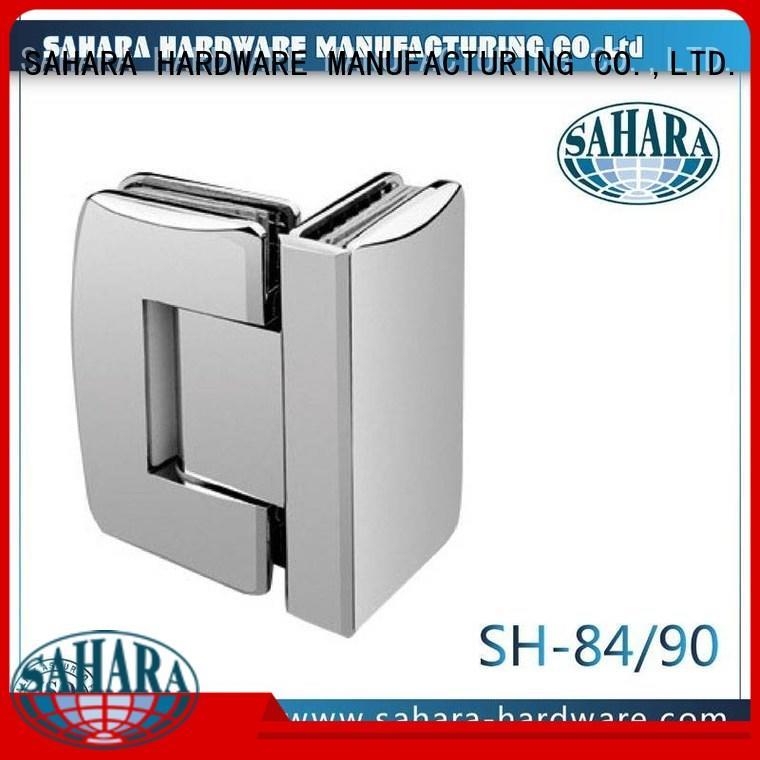 glass frameless glass door hinges shower SAHARA Glass HARDWARE company