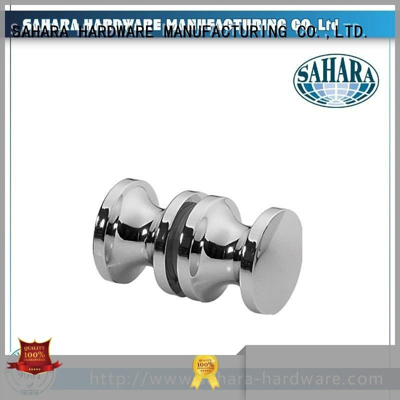 SAHARA Glass HARDWARE brass delta shower knob factory direct supply for home