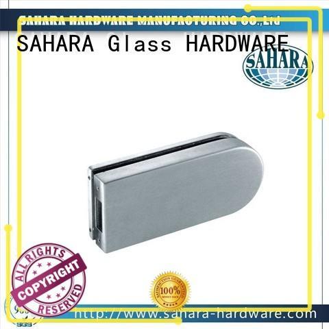 stainless steel cover glass door lock supplier for doors