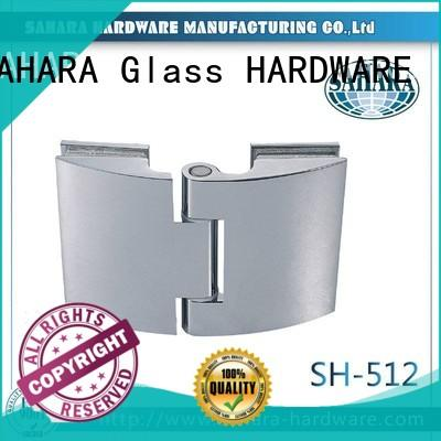 good price glass panel connectors hanging wholesale for bathroom