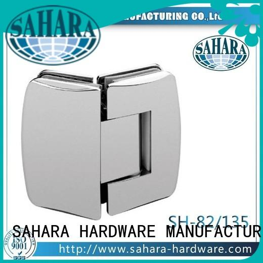 shower Steel glass door hinges GAC Brass SAHARA Glass HARDWARE Brand