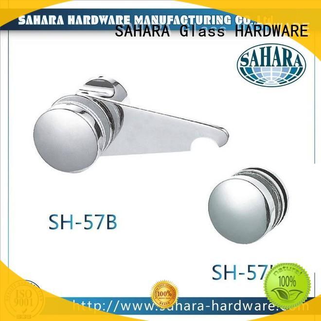 safe bathroom glass door lock aluminium body supplier for home