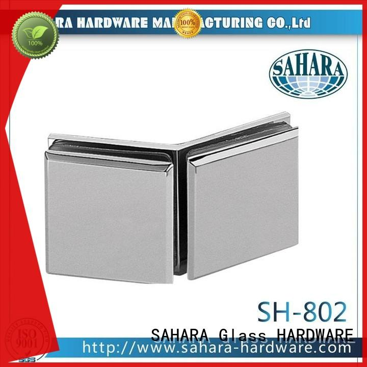 SAHARA Glass HARDWARE top quality glass connectors factory direct supply for bathroom