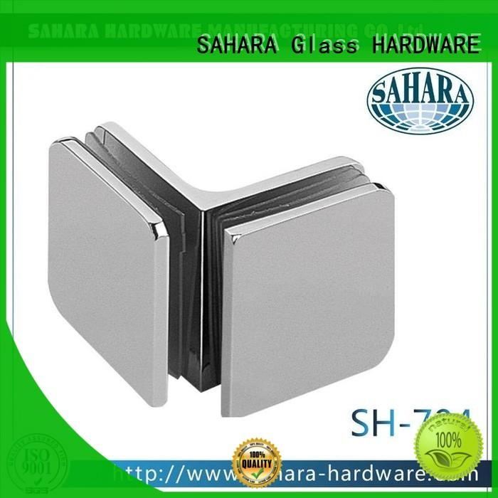 SAHARA Glass HARDWARE good price glass panel connectors supplier for doors