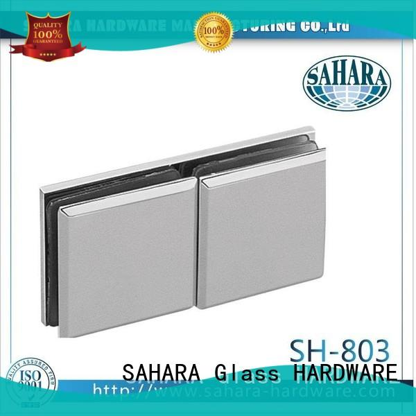 SAHARA Glass HARDWARE top quality glass panel connectors factory direct supply for bathroom