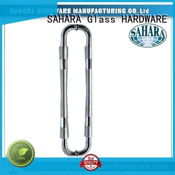 SAHARA Glass HARDWARE multi-shape glass door handles supplier for home