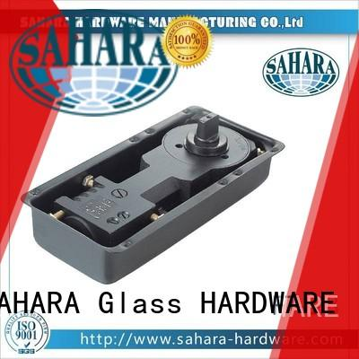 SAHARA Glass HARDWARE stainless steel cover floor spring door factory direct supply for office