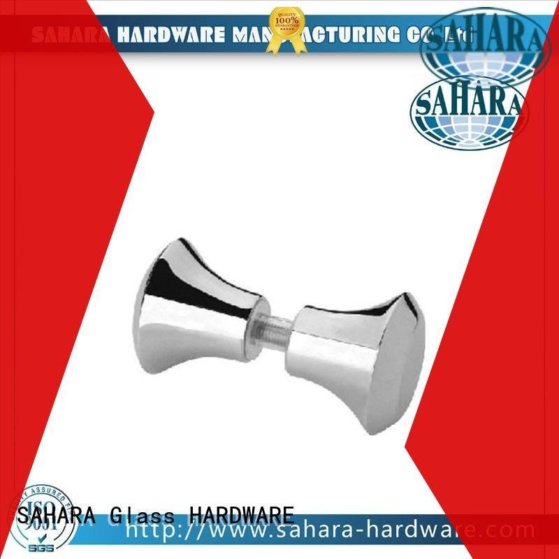square delta shower knob factory direct supply for bathroom SAHARA Glass HARDWARE