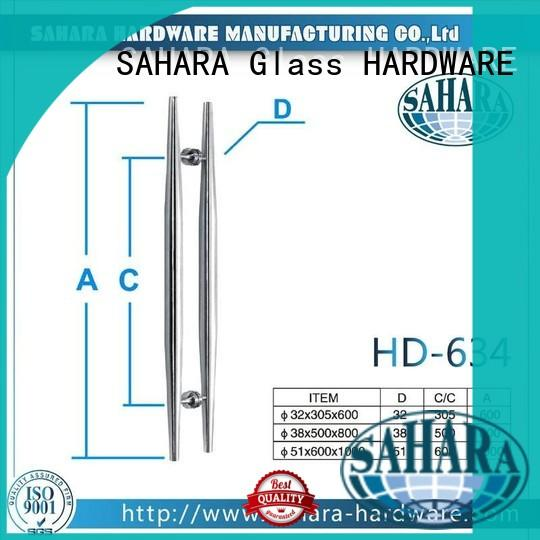 various lengths glass door handle suppliers factory direct supply for home SAHARA Glass HARDWARE