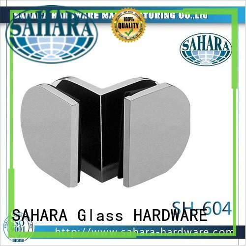 SAHARA Glass HARDWARE brass glass panel connectors wholesale for home