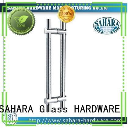 SAHARA Glass HARDWARE various lengths glass door handles manufacturer for home