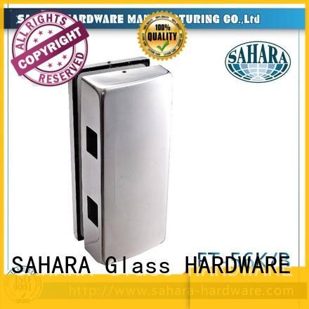 SAHARA Glass HARDWARE stainless steel cover glass door lock supplier for doors