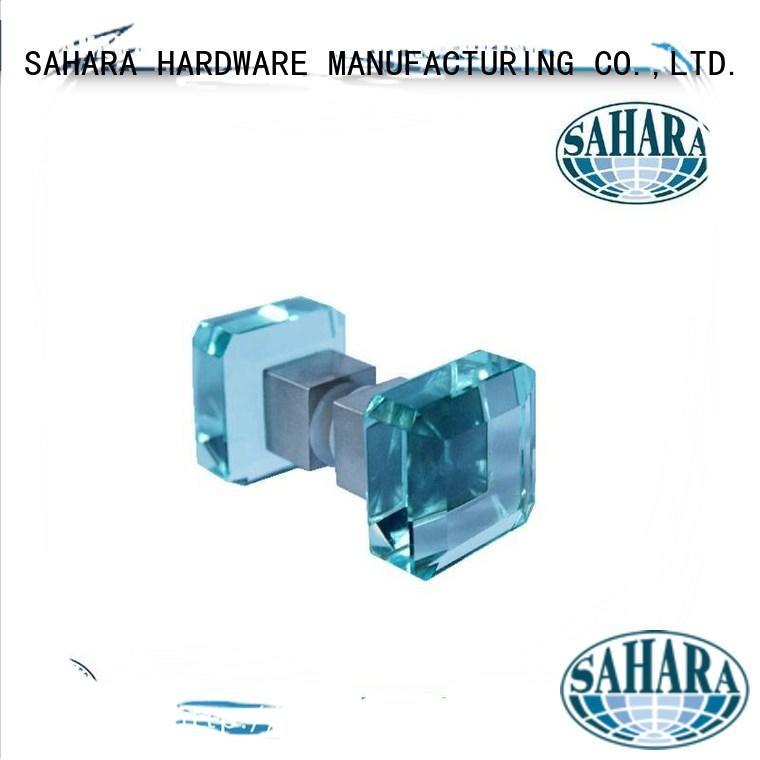SAHARA Custom GAC brass moen shower knob SAHARA Glass HARDWARE ROYMA