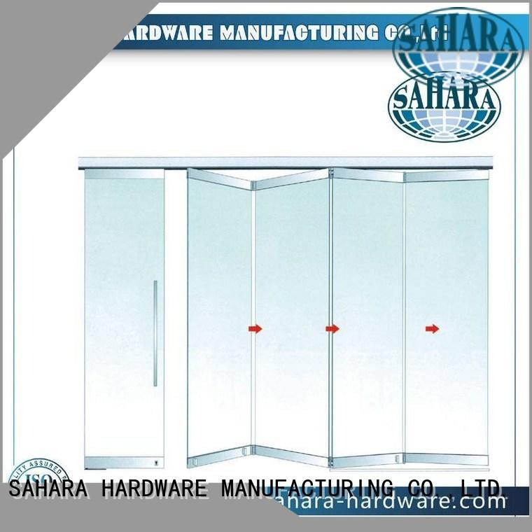 folding glass walls system Bulk Buy 40mm spacing SAHARA Glass HARDWARE